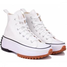 Кеды converse run star hike high 166799c white текстиль