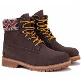 Bustagrip bgh-0830brn+wo 36(3)(р) ботинки brown нубук