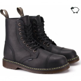 Steel 113/114/al/ken/124-ocw-blk 37(р) ботинки black 100% кожа шерсть