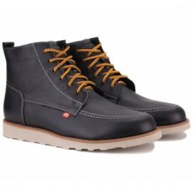 Bustagrip bgl-0641b 45(р) ботинки black 100% кожа