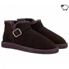 Bustagrip bgo-w1033brn 39(р) ботинки brown замша