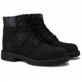 Timberland 6-inch premium waterproof 12907 37(4,5)(р) ботинки black/black нубук