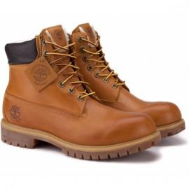 Timberland 6-inch premium waterproof 6065r 43(9)(р) ботинки yellow 100% кожа/мех