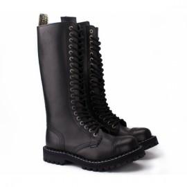 Steel 139/140o-blk 38(р) ботинки black 100% кожа