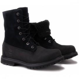 Timberland authentic teddy fleece 8149a 37,5(6,5)(р) ботинки black замша/нубук/мех