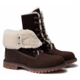 Timberland splitrock2 hiker 83385 40(9)(р) ботинки brown нубук/нат мех