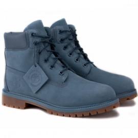 Timberland 6-inch premium waterproof a108d 36(4)(р) ботинки blue нубук