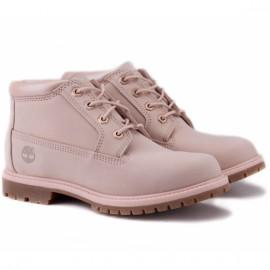 Timberland nellie chukka waterproof a1k9c 38,5(7,5)(р) ботинки pink 100% кожа