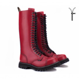 Steel 139/140oz-fr 39(р) ботинки full red 100% кожа