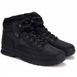 Ботинки timberland euro hiker a1reh 42(8,5)(р) black 100% кожа