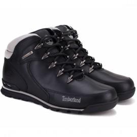 Ботинки timberland euro rock hiker 6163r 43(9)(р) black 100% кожа