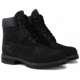 Ботинки timberland premium 6 inch 10073 (tf4042) 42(8,5)(р) black 100% кожа