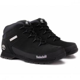 Ботинки timberland euro sprint mid hiker 6361r (tf4082) 40(7)(р) black кожа