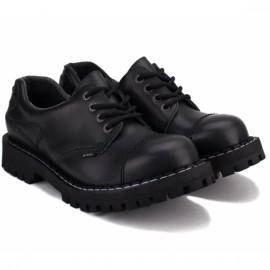Туфли steel 155/156o-blk 43(р) black 100% кожа