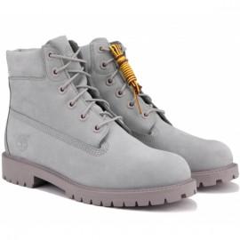 Ботинки timberland 6 inch premium waterproof tboa172f (tl1818) 38(5,5)(р) grey нубук