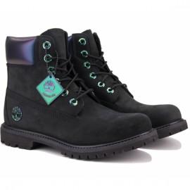 Ботинки timberland 6 inch premium tboa21y1 (tg2323) 37(6)(р) black нубук
