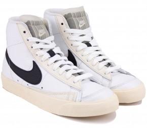 Кроссовки Nike WMNS Blazer Mid 77 DD6621-100 White Кожа