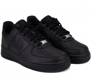 Кроссовки Nike Wmns Air Force 1 07 DD8959-001 Black Кожа
