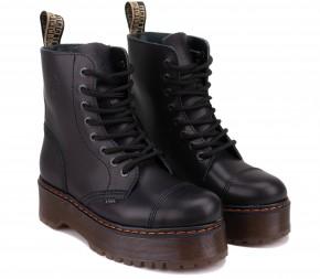 Ботинки Steel 113/ALS-DUR1/B Black Кожа