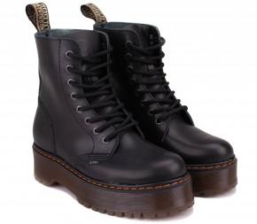 Ботинки Steel 113/ALS1/GL/B Black Кожа