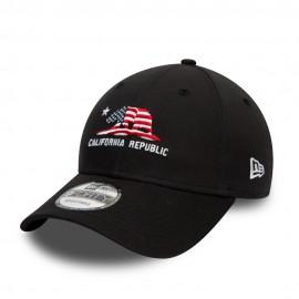 Кепка New Era California Republic 60081100 Black Текстиль