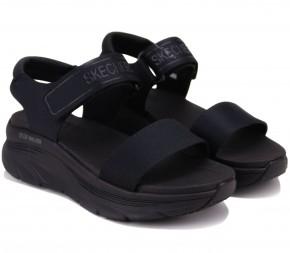 Босоножки Skechers Relaxed Fit: D'Lux Walker 119226 BBK (KW6276) Black Текстиль