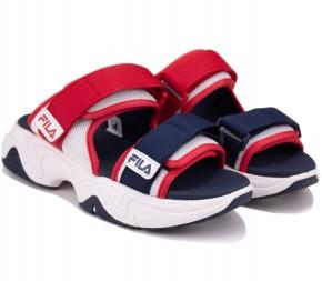 Шлепанцы Fila Nebula Mule W Sandals 108216-WH Navy/Red Текстиль