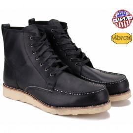 Ботинки c1rca pinn bwt 42(9)(р) black/white 100% кожа