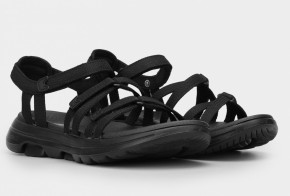 Босоножки Skechers GOwalk 5 140093 BBK (KW6287) Black Текстиль