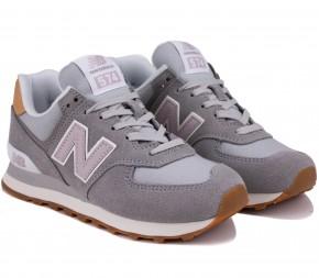 Кроссовки New Balance 574 WL574NA2 Grey Замша