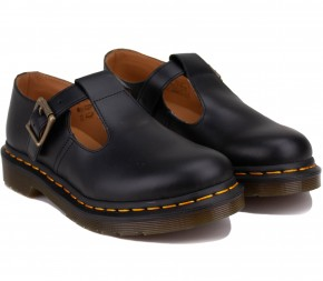 Туфли Dr. Martens Polley Smooth Leather Mary Janes 14852001 Black