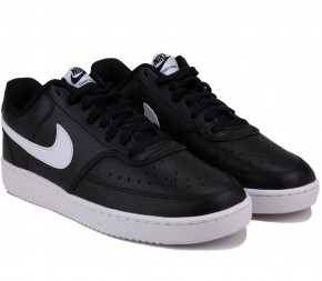 Кроссовки Nike Court Vision Low CD5463-001 Black Кожа