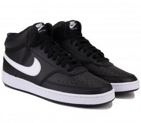 Кроссовки Nike Court Vision Mid CD5466-001 Black Кожа
