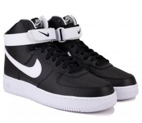 Кроссовки Nike Air Force 1 07 High CT2303-002 Black Кожа