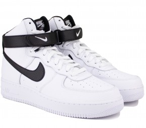 Кроссовки Nike Air Force 1 07 High CT2303-100 White Кожа