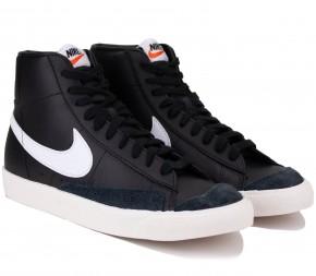 Кроссовки Nike Blazer Mid Vintage '77 BQ6806-002 Black Кожа