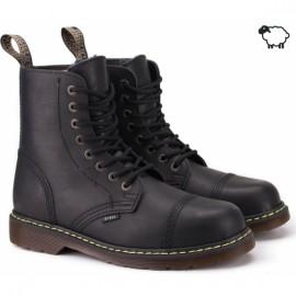 Steel 113/114/al/ken/124-ocw-blk 43(р) ботинки black 100% кожа шерсть