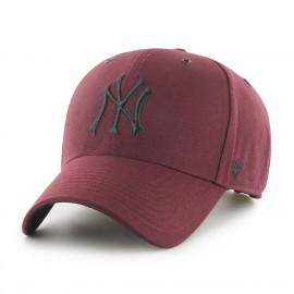 Кепка 47 Brand New York Yankees B-AERIL17GWS-KM Bordo Хлопок