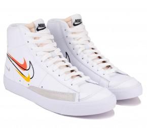 Кроссовки Nike Blazer Mid '77 DN7996-100 White Кожа