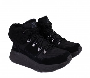 Ботинки Skechers Max Cushioning - Pinnacle 144354 BBK Black Замша