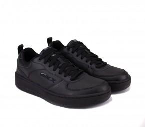 Кроссовки Skechers Sport Court 92 (237188 BBK) Black Кожа