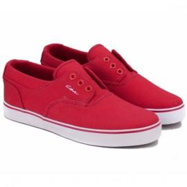 Кеды c1rca valeoslip foo 38,5(6,5)(р) red/white текстиль