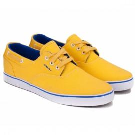 Кеды c1rca valeo lec 37(5,5)(р) yellow/navy текстиль