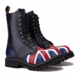 Ботинки steel 105/106o-fla на 10 дыр 39(р) flag 100% кожа