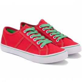 Кеды wishot 32-050d-rd red текстиль
