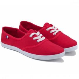 Кеды wishot 32-054d-rd 38(р) red текстиль