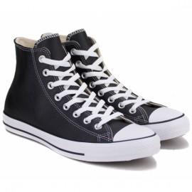 Кеды converse chuck taylor all star hi 132170c 38(5,5)(р) black 100% кожа