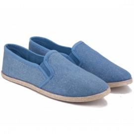 Wishot 32-187d-j.bl 36(р) голубые мокасины j.blue текстиль