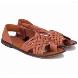Wishot(a) 1118-81 37(р) босоножки brown 100% кожа