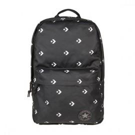 Converse edc poly backpack star chevron black 10003331-016 o/s(р) рюкзак black/white материал